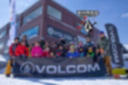 volcom キッズキャンプ