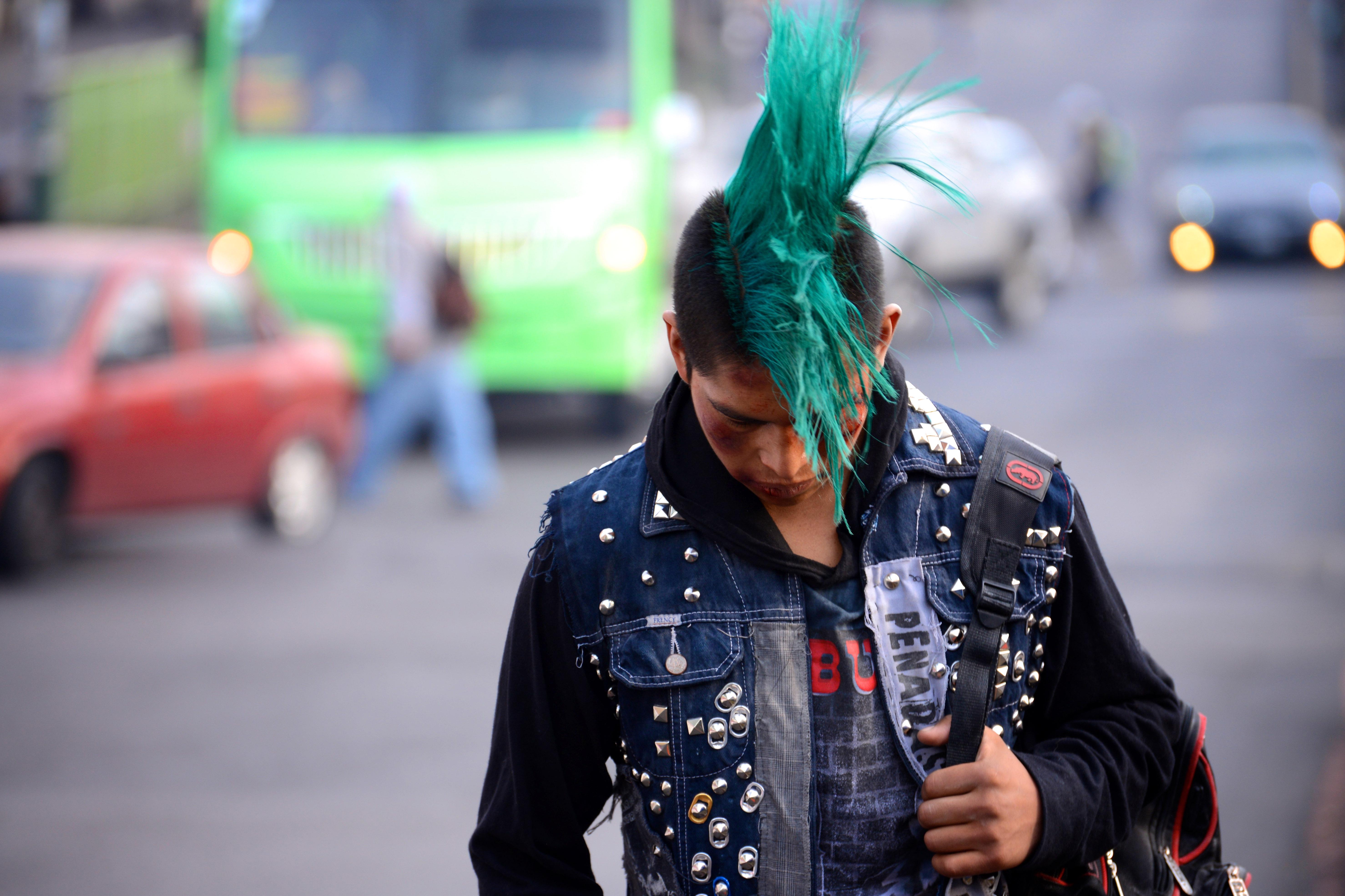 David in the street