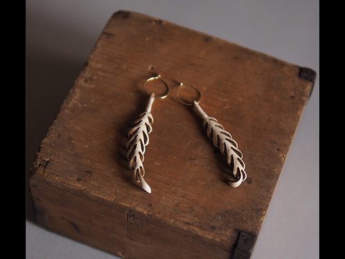 Fern leaves earrings(アマクサシダ)