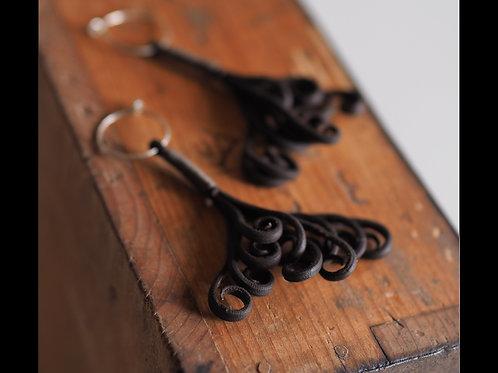 Bracken earrings(ワラビ)
