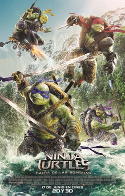 NINJA TURTLES: FORA DE L'OMBRA