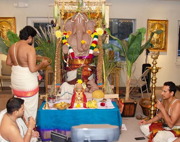 Ganapathi Pooja @ S.V. Temple, Edina, MN