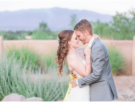 Megan + Dillon | An Intimate Backyard Wedding