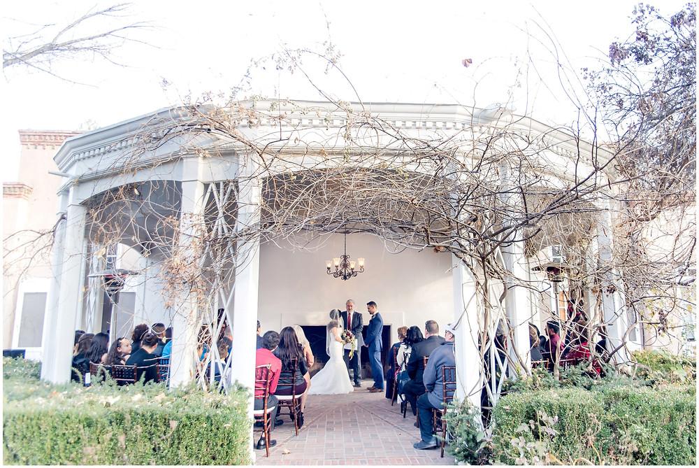 Albuquerque Winter Wedding. Los Poblanos Wedding Venue. Albuquerque Wedding Photographer. New Mexico Wedding Photographer. Los Poblanos Lavender Farm. Elegant Wedding Albuquerque.
