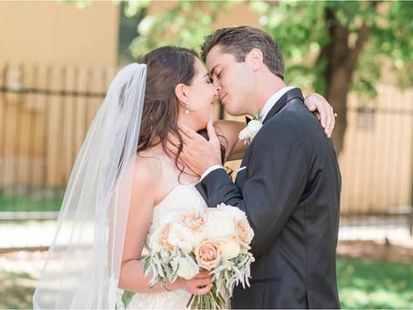 Alyssa & Cole | Simply Elegant La Posada Wedding | Santa Fe Wedding Photographers