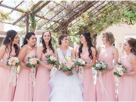 Allison + James   Romantic Spring Wedding at Hotel Albuquerque