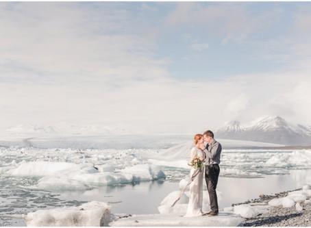 Sara-Irene and Alex | An Icelandic Elopement