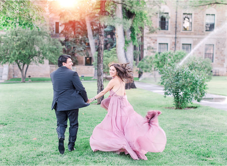 Carolyn and Nick | A Magical Downtown Santa Fe Engagement Session | Santa Fe Wedding Photographers