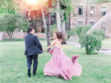 Carolyn and Nick | A Magical Downtown Santa Fe Engagement Session | Santa Fe Wedding Photographers