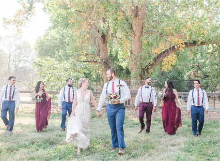 Jessica + Bobby | A Backyard Fall Albuquerque Wedding