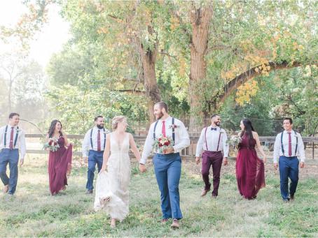 Jessica + Bobby | A Backyard Fall Albuquerque Wedding