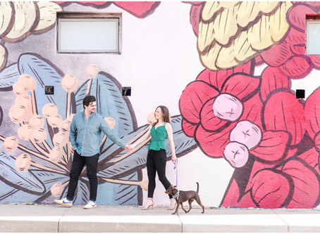 Lauren + Andrew | A Downtown Albuquerque Engagement Session | Albuquerque Wedding Photographer