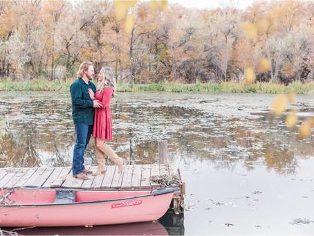 Katie + Ian | A Romantic Pondside Engagement | Albuquerque Wedding Photographers