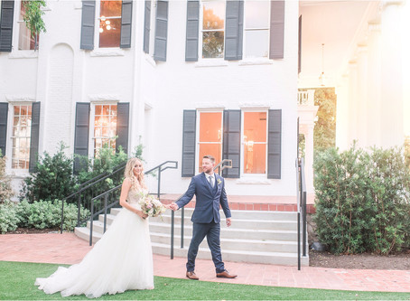 Ashley and Seth | Elegant Austin Texas Wedding | Woodbine Mansion