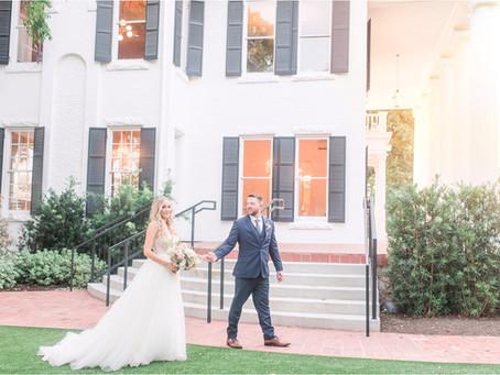 Ashley and Seth | Elegant Austin Texas Wedding | Woodbine Mansion