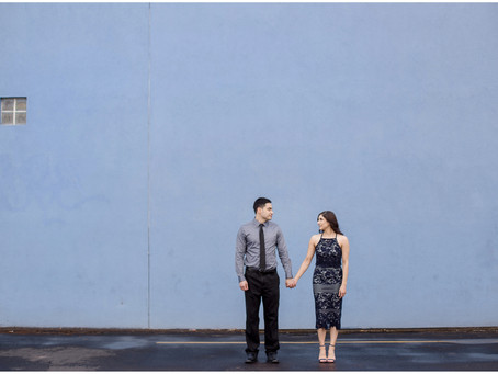 Raquel + Ryan | Downtown Albuquerque Engagement