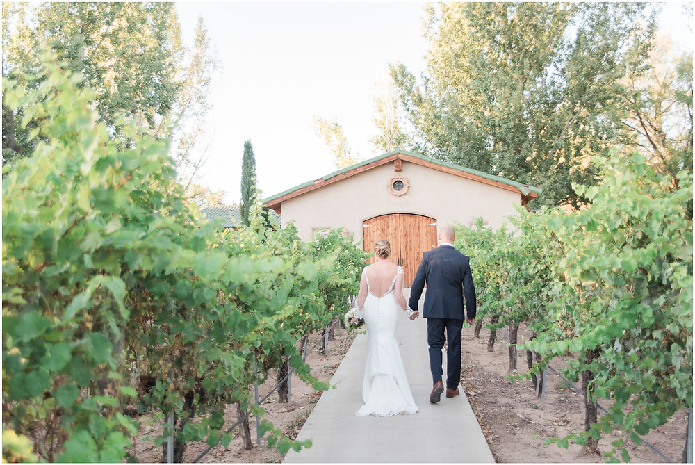Wedding at Casa Rondena Winery. Maura Jane Photography. fall wedding New mexico. Outdoor wedding venue albuquerque. New Mexico Wedding Photographer. Winery Wedding.