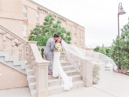 Joy and Manny | An Intimate Hotel Parq Central Wedding | Albuquerque Wedding Photographers