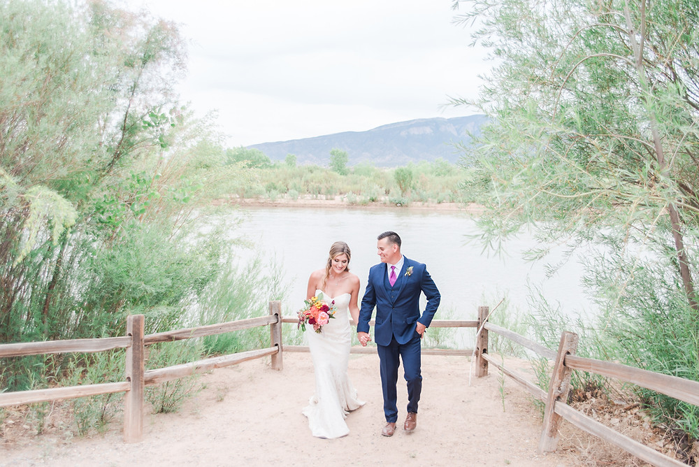 Rio Grande Wedding. Hyatt Regency Tamaya Wedding. Albuquerque Wedding Photographers. New Mexico Wedding Photographers. Where to get married in Albuquerque. Destination Wedding.