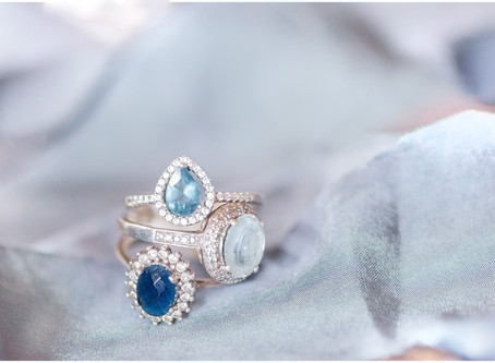 Choosing and Caring for Your Alternative Stone Engagement Rings | Albuquerque Wedding Photographer