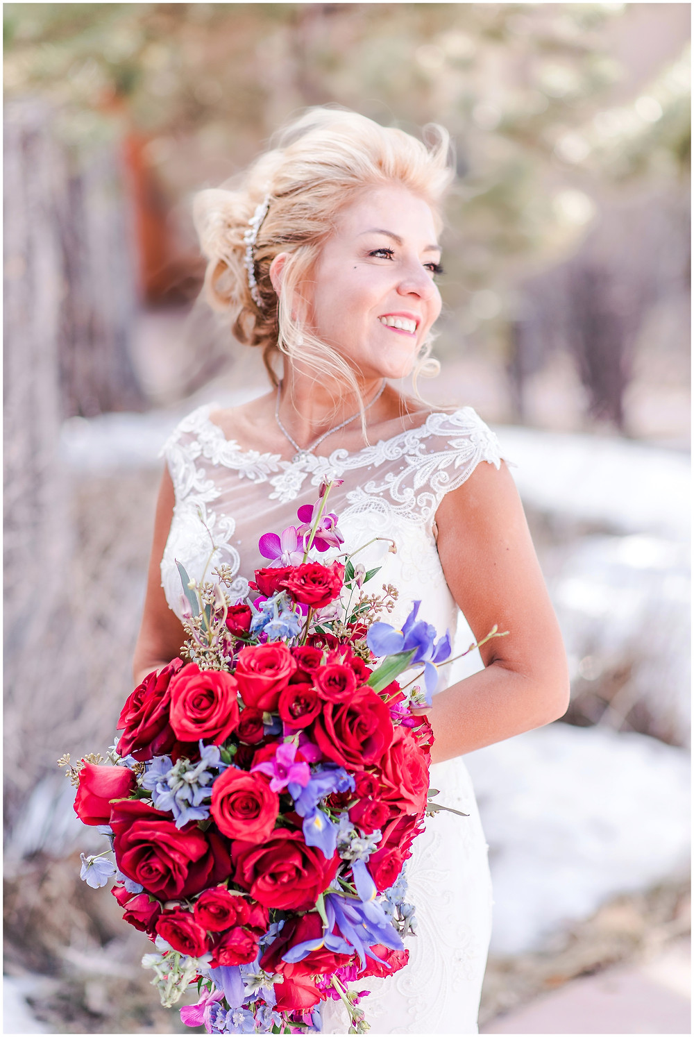 Santa Fe wedding photographer. New Mexico wedding photographer. Albuquerque wedding photographer. Four seasons santa fe wedding. burgundy wedding. navy wedding. maura jane photography. engagement ring. sapphire ring. wedding rings. bridal photos. bride. wedding bouquet. photos of bride