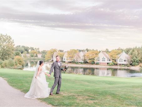 Lauren & Ben | Autumn Wedding in Cleveland, Ohio | Destination Wedding Photographers