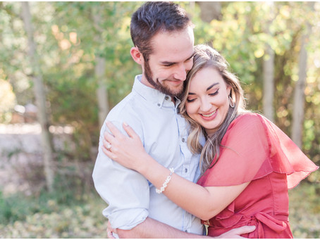 Hannah + Derrick | Autumn Engagement at Hyde Park, Santa Fe