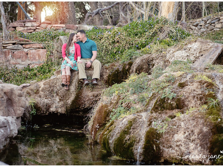 Jennifer + Justin | Tijeras Canyon, East Mountains Engagement