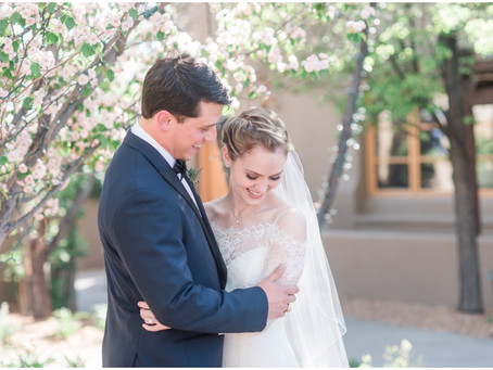 Caitlin + Justin | Festive Wedding at Gerald Peters Gallery