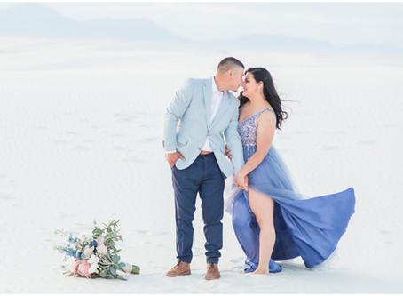 Bobbi + Jose | A White Sands Engagement | Albuquerque Wedding Photographers