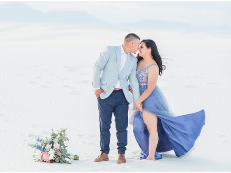 Bobbi + Jose | A White Sands Engagement | Albuquerque Wedding Photographers