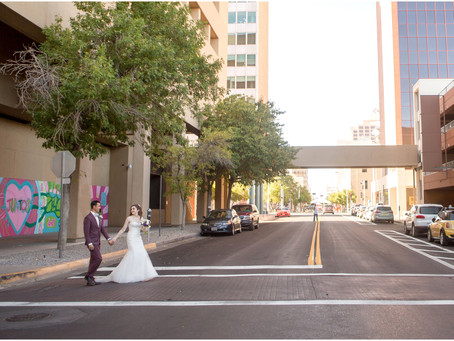 Emily + Matt | Hotel Andaluz City Wedding