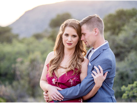 Noel + Evan | Sandia Foothills Engagement