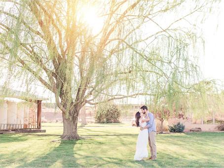 Cristina & Eric | Gorgeous Corrales Engagement | Albuquerque Wedding Photographers