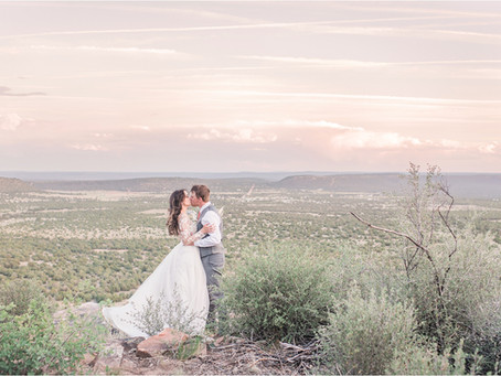 Karissa and Jason | Spring Wedding at Blame Her Ranch | New Mexico Wedding Photographers