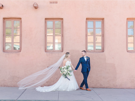 Hannah and Derrick | Romantic La Fonda Wedding | Santa Fe Wedding Photographer