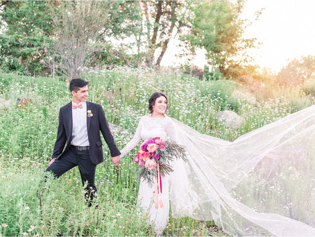 Alejandrina + Pablo | A Colorful Styled Shoot in the Bosque | Albuquerque Wedding Photographers