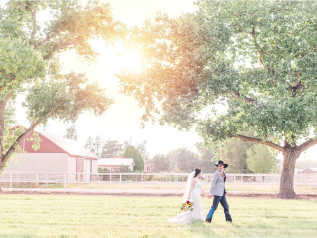 Macon and Kelly | A Wedding in the Country | Albuquerque Wedding Photographers