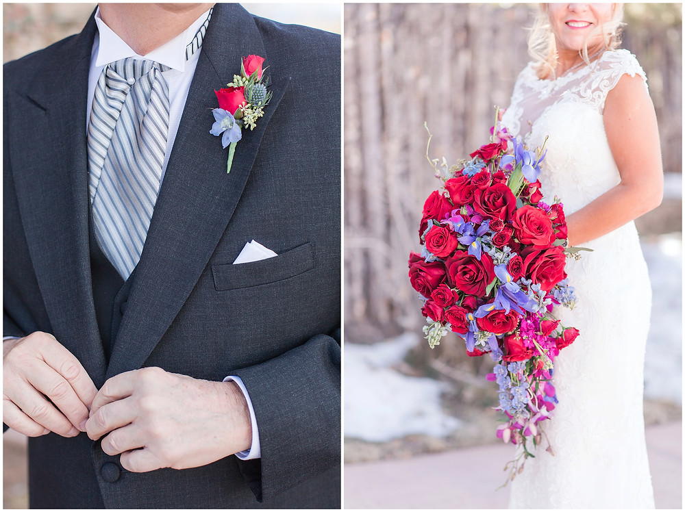 Santa Fe wedding photographer. New Mexico wedding photographer. Albuquerque wedding photographer. Four seasons santa fe wedding. burgundy wedding. navy wedding. maura jane photography. engagement ring. sapphire ring. wedding rings. bridal bouquet. boutonniere
