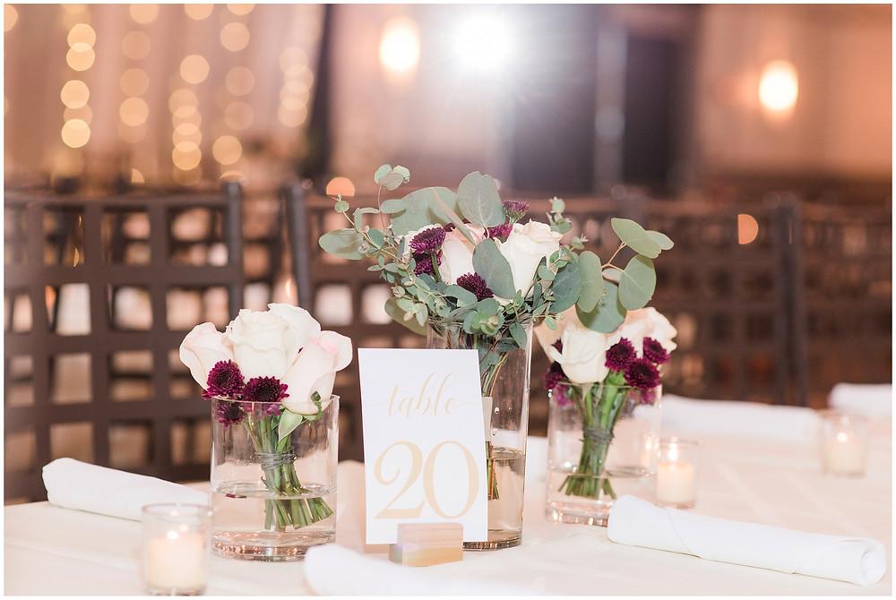 Maura jane photography. New Mexico wedding photographer. Albuquerque wedding photographer. Noahs event venue wedding. Pink and burgundy wedding. outdoor wedding portraits. wedding photos. indoor ceremony. reception decor.