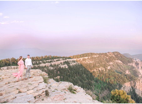 Hailey + Evan | Sandia Crest Engagement Session |Albuquerque Wedding Photographers