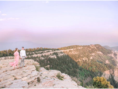 Hailey + Evan | Sandia Crest Engagement Session |Albuquerque Wedding Photographers