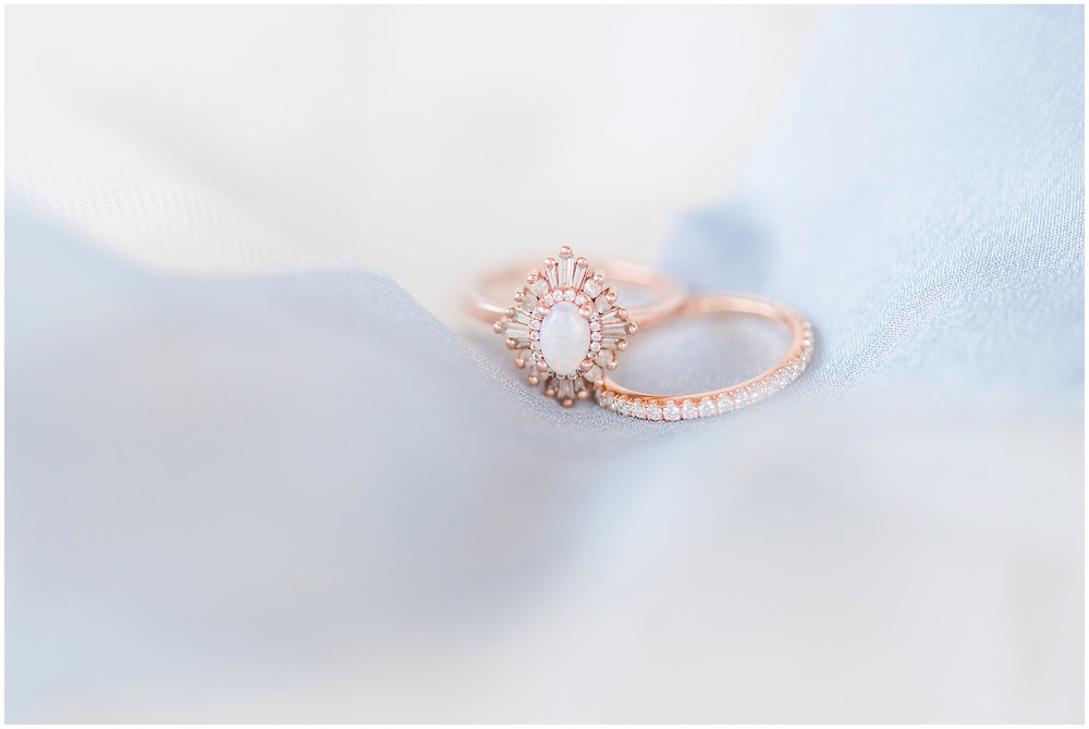 opal engagement ring rose gold engagement ring alternative stone engagement ring