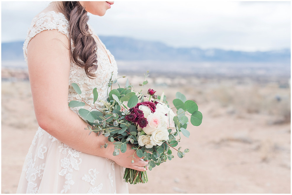 New Mexico wedding photographer. Albuquerque wedding photographer. Noahs event venue wedding. Pink and burgundy wedding. outdoor wedding portraits. bridal portraits. bridal hair and makeup. wedding hair wedding make up. wedding bouquet