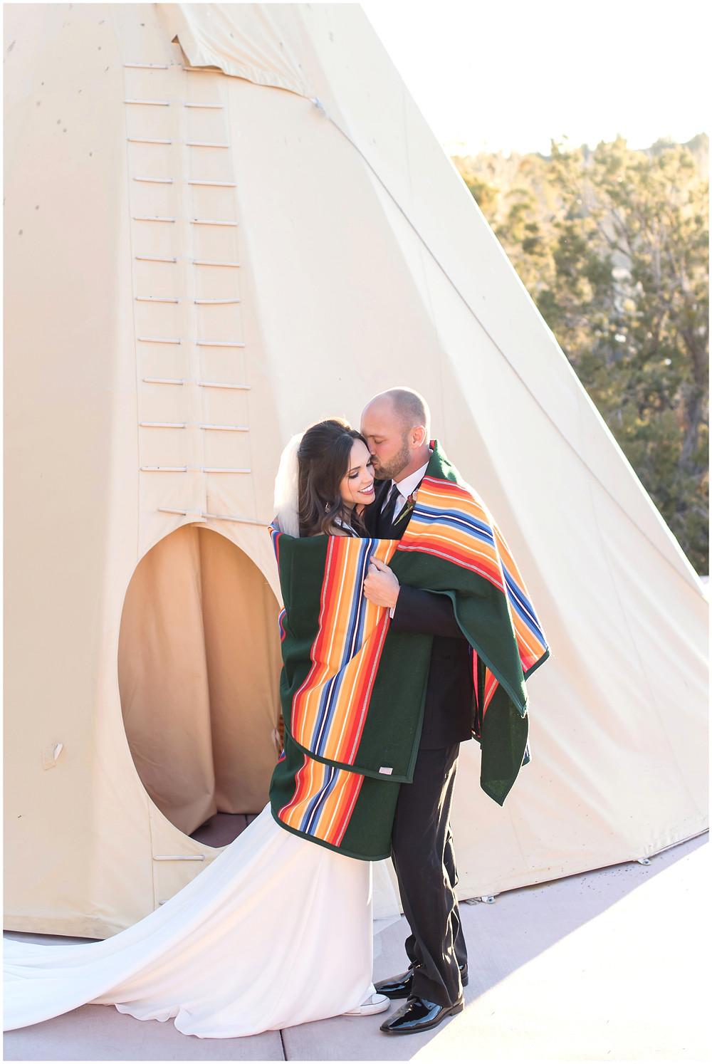 Winter Wedding New Mexico. New Mexico Wedding Photographer. Four Seasons Santa Fe Wedding.