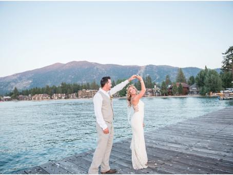 Emily + EJ | A Destination Wedding in Beautiful Lake Tahoe