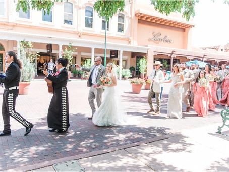 Stephanie & Ben | Santa Fe Wedding at La Fonda | Santa Fe Wedding Photographers