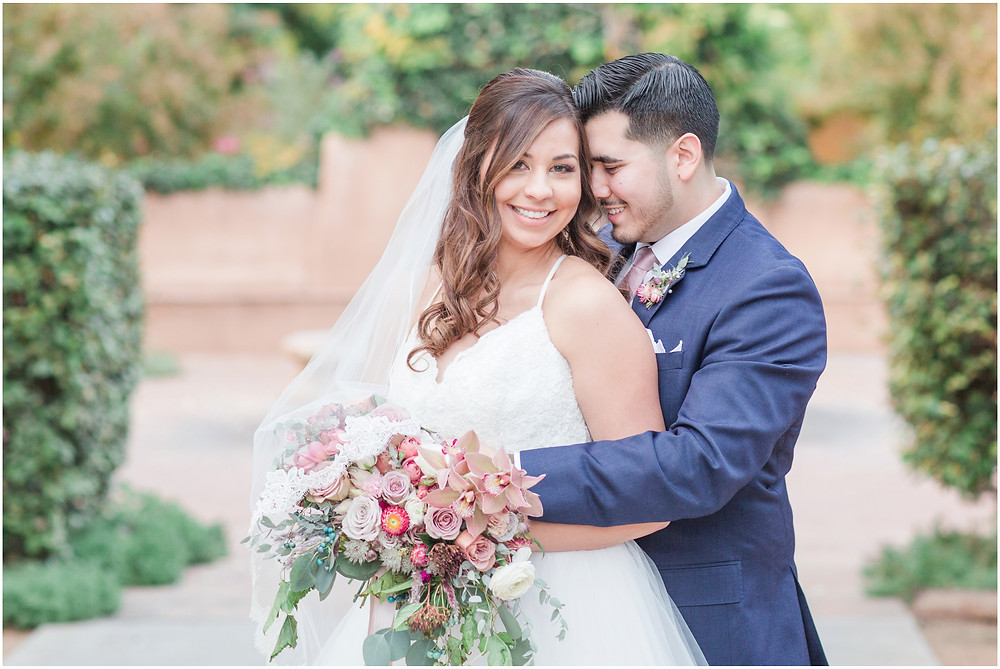 wedding at hotel albuquerque. new mexico wedding. outdoor wedding new mexico. albuquerque wedding. new mexico wedding photographer. Maura jane photography. Pink wedding. summer wedding. pink wedding bouquet. pink bridesmaids dresses. navy groom