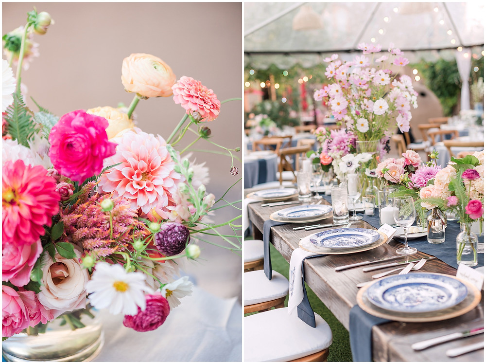 La Posada Wedding. La Posada Santa Fe. Santa Fe Wedding. Santa Fe Wedding Photographer. New Mexico Wedding. New Mexico Wedding Photographer. Wedding Tent. Wedding Reception Tent. Garden Wedding. Messy Florals. Messy Bouquets. Wildflower Bouquets. Asian Inspired Wedding.