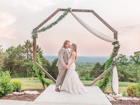 Katie & Ian | A Summer Wedding at The Atrium in Missouri | Destination Wedding Photographers